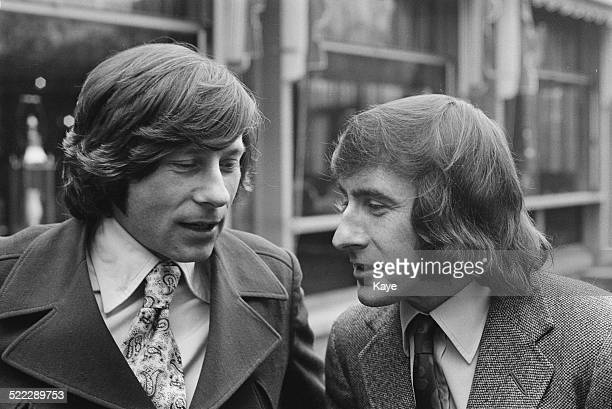 Polishborn film director Roman Polanski with Scottish racing driver Jackie Stewart 18th February 1972