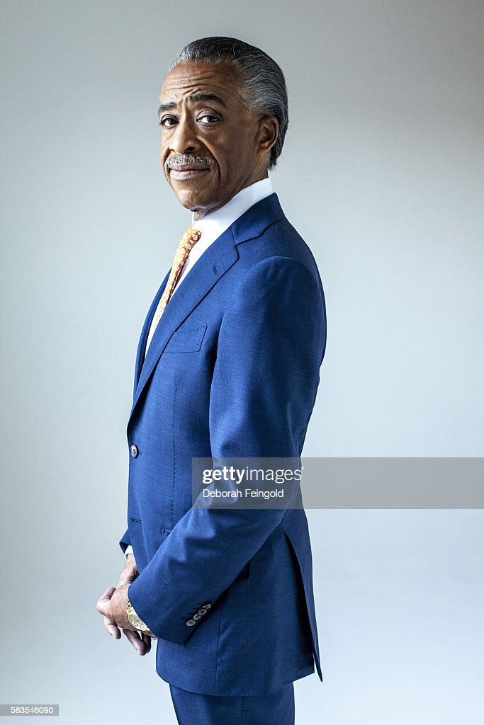 Political activist Al Sharpton poses for a portrait on June 17, 2013 in New York, New York.