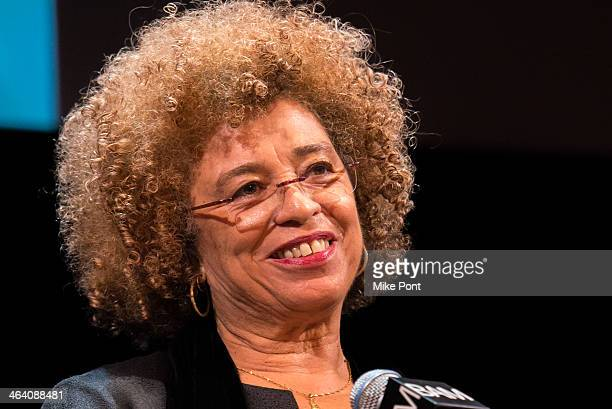 Political Activist Angela Davis attends the 28th annual Brooklyn tribute to Dr Martin Luther King Jr at BAM Howard Gilman Opera House on January 20...