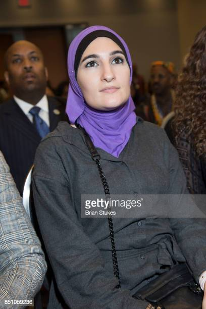 Political activist Linda Sarsour attends OWN's 'Released' Screening at Walter E Washington Convention Center on September 20 2017 in Washington DC
