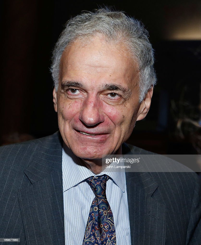 Political Activist <a gi-track='captionPersonalityLinkClicked' href=/galleries/search?phrase=Ralph+Nader&family=editorial&specificpeople=154891 ng-click='$event.stopPropagation()'>Ralph Nader</a> attends the 2nd Annual Decades Ball at Capitale on June 3, 2013 in New York City.