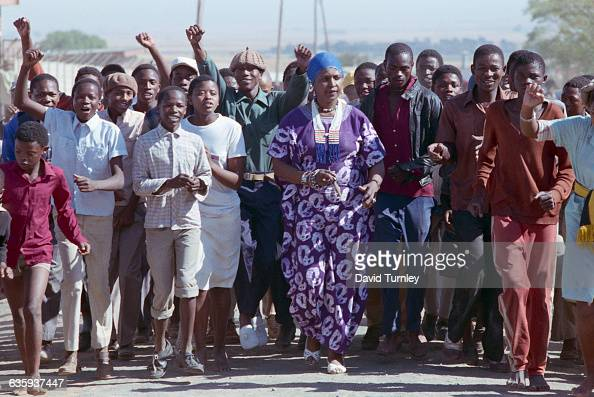 Winnie Mandela Marching with Youths Pictures | Getty Images Javier Bardem Ethnicity