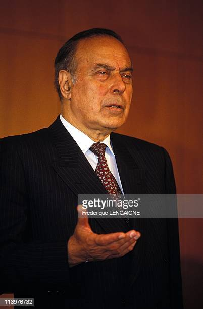 Political and Military crisis In Azerbaijan On June 21 1993Gueidar Aliev president of Parliament