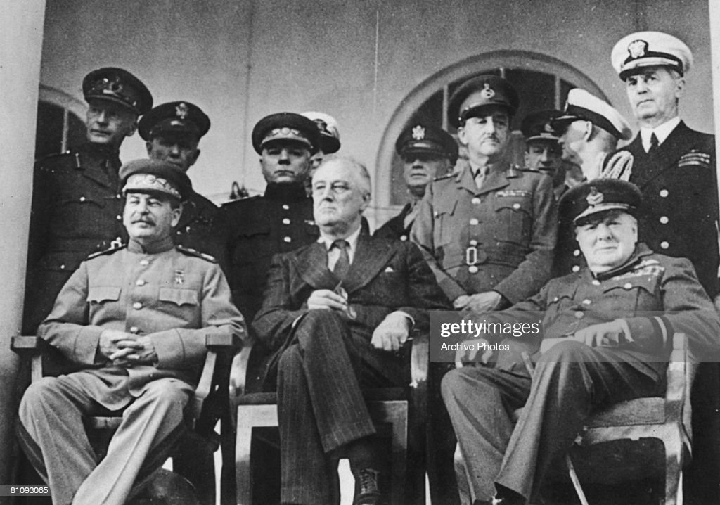 Whats the purpose of the Big Three Conferences during WWII?