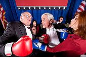 Political Boxing Match