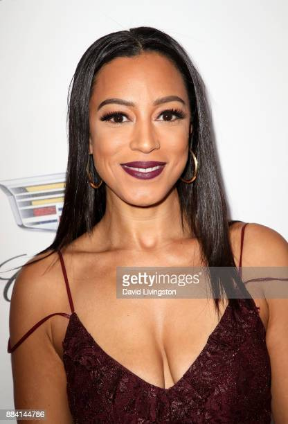 Political commentator Angela Rye attends Ebony Magazine's Ebony's Power 100 Gala at The Beverly Hilton Hotel on December 1 2017 in Beverly Hills...