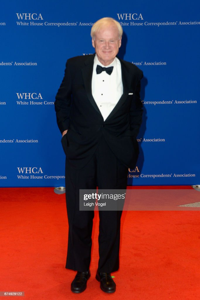 Political Commentator Chris Matthews attends the 2017 White House Correspondents' Association Dinner at Washington Hilton on April 29, 2017 in Washington, DC.