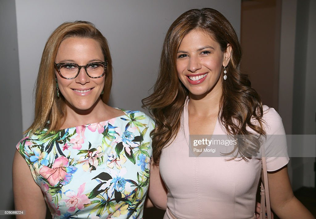Political commentator, SE Cupp and Journalist Michelle Fields attends the Glamour and Facebook brunch to discuss sexism in 2016, during WHCD Weekend at Kinship on April 29, 2016 in Washington, DC.
