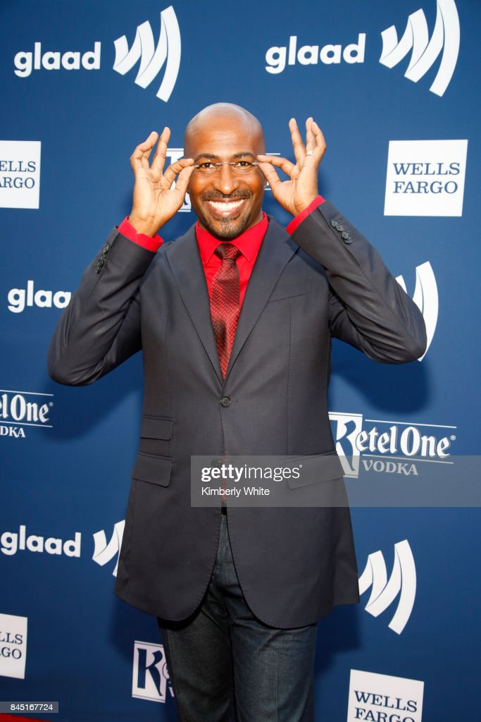 CNN political commentator Van Jones at the 2017 GLAAD Gala at City View at Metreon on September 9, 2017 in San Francisco, California.