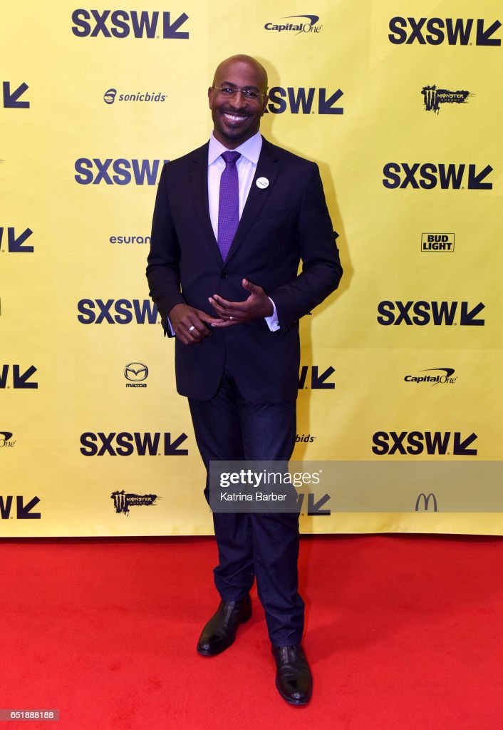 Political commentator Van Jones attends 'The Messy Truth with Van Jones' during 2017 SXSW Conference and Festivals at Austin Convention Center on March 10, 2017 in Austin, Texas.
