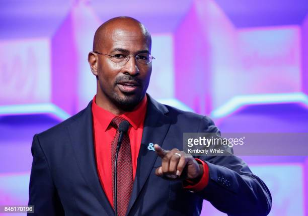 CNN political commentator Van Jones speaks at the 2017 GLAAD Gala at City View at Metreon on September 9 2017 in San Francisco California