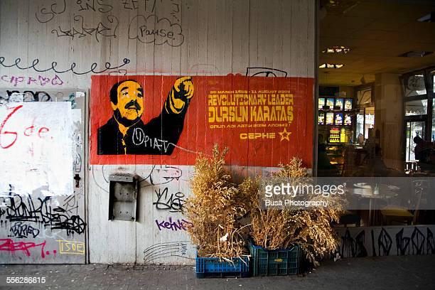 Political graffiti in Kreuzberg, Berlin