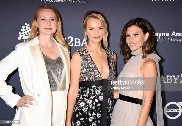 Political strategist Amy Wakeland Baby2Baby CoPresidents Kelly Sawyer Patricof and Norah Weinstein attend the 2017 Baby2Baby Gala at 3Labs on...