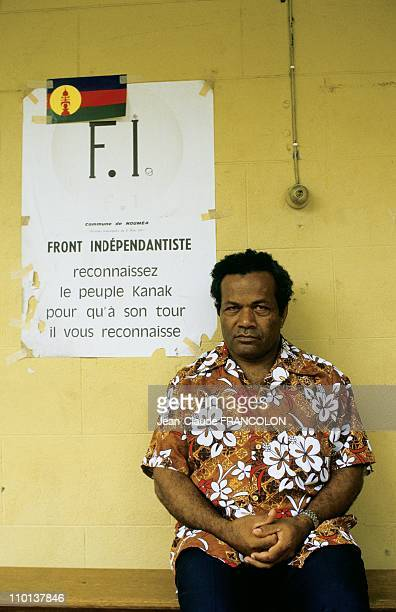 Political tension and violence in New CaledoniaFrance in November1984 In 1984 JeanMarie Tjibaou was appointed head of the FLNKS and later that year...