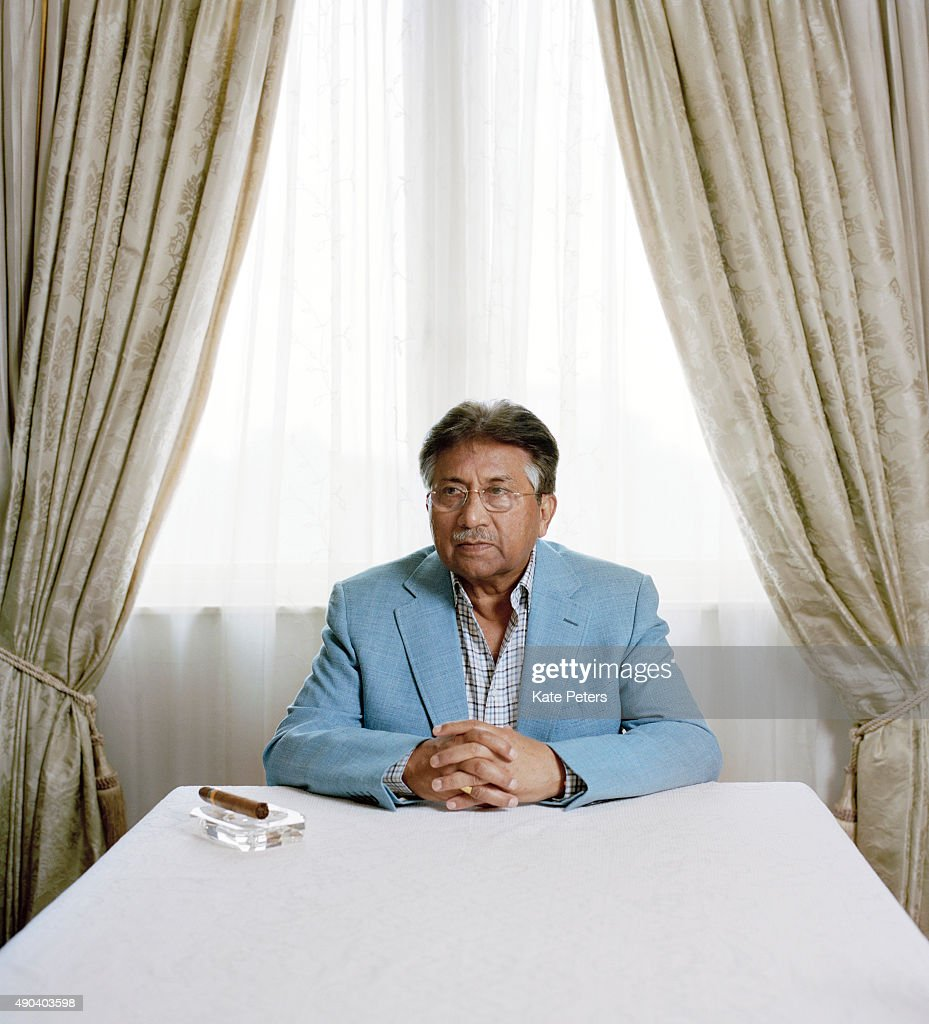 Politician and a retired army general <a gi-track='captionPersonalityLinkClicked' href=/galleries/search?phrase=Pervez+Musharraf&family=editorial&specificpeople=121550 ng-click='$event.stopPropagation()'>Pervez Musharraf</a> is photographed for the New Statesman on June 12, 2012.