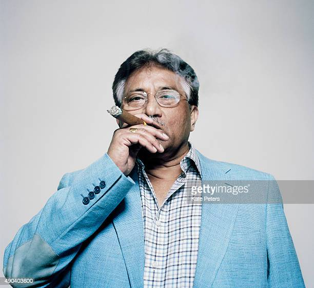 Politician and a retired army general Pervez Musharraf is photographed for the New Statesman on June 12 2012