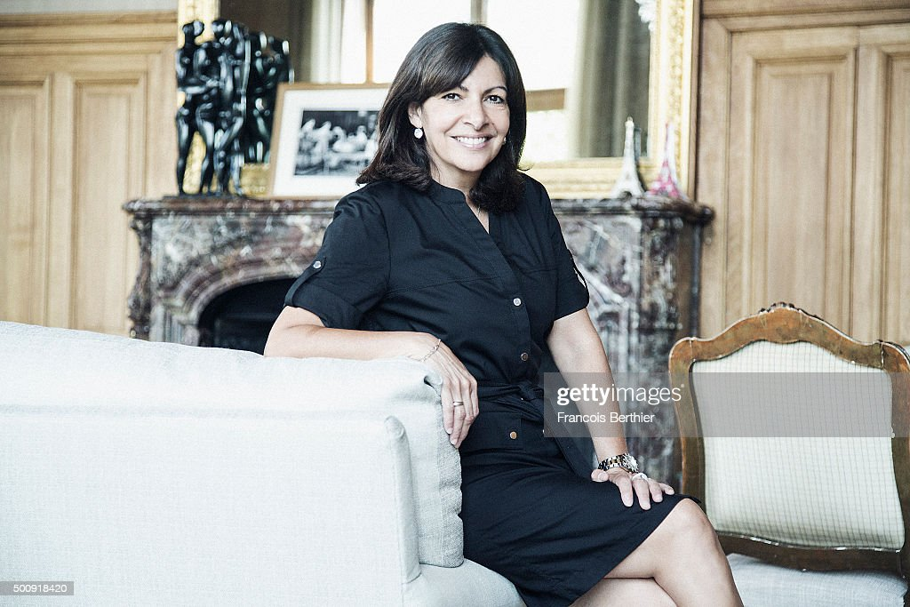 Politician Anne Hidalgo is photographed for Self Assignment on July 15, 2015 in Paris, France.