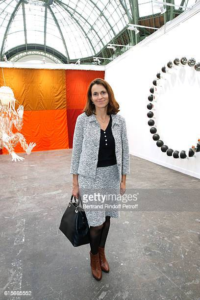Politician Aurelie Filippetti attends the FIAC 2016 International Contemporary Art Fair Press Preview Held at Le Grand Palais on October 19 2016 in...