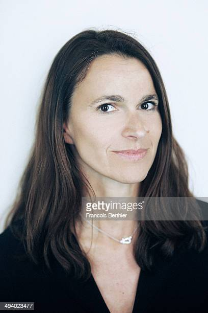 Politician Aurelie Filippetti is photographed for Self Assignment on May 20 2014 in Cannes France