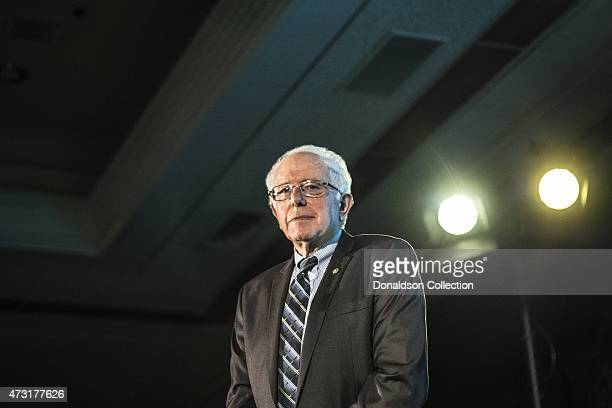 Politician Bernie Sanders attends the Sister Giant conference at the LAX Concourse Hotel where he unofficially announced his presidential bid on...
