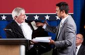 Politician Bribed by Lobbyist