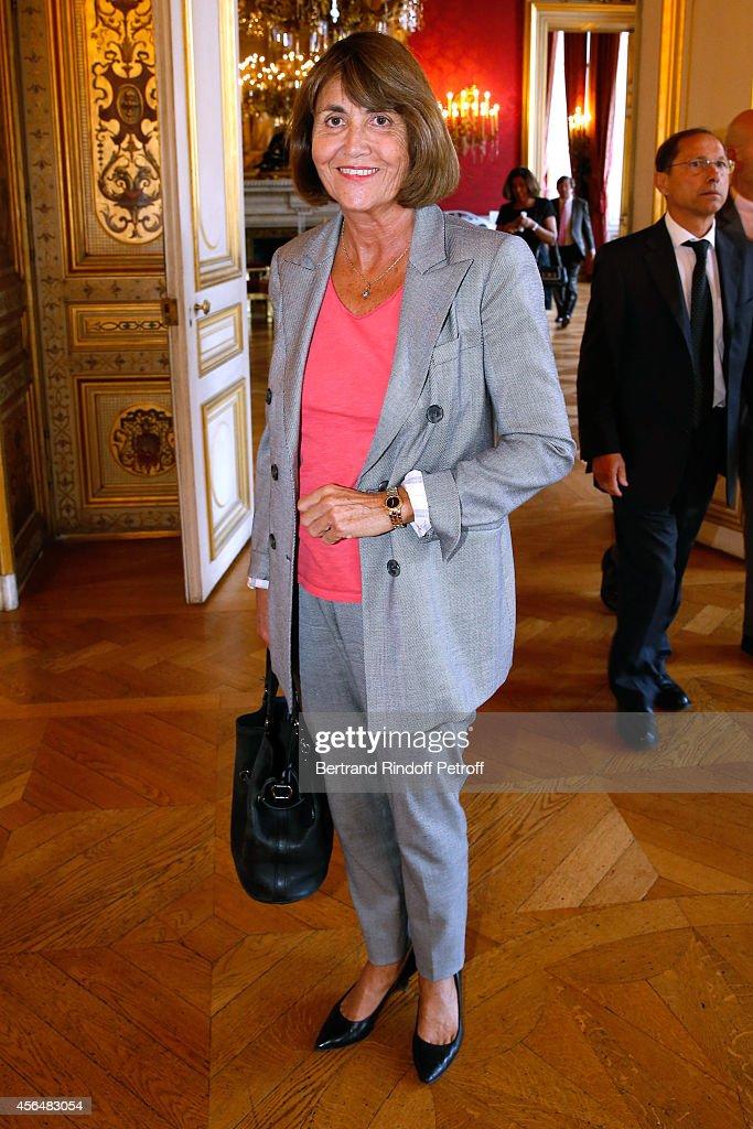 Xavier Darcos Receives 'L'Epee D'Academicien' In Paris