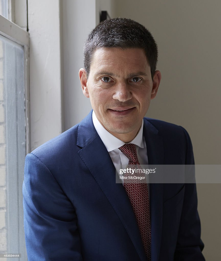 Politician David Miliband is photographed for The Observer Newspaper on August 6, 2014 in New York City.