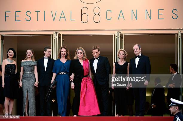Politician Fleur Pellerin actress Sara Forestier actor Rod Paradot director Emmanuelle Bercot actress Catherine Deneuve actor Benoit Magimel...