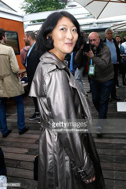 Politician Fleur Pellerin attends Day Eleven of the 2016 French Tennis Open at Roland Garros on June 1 2016 in Paris France