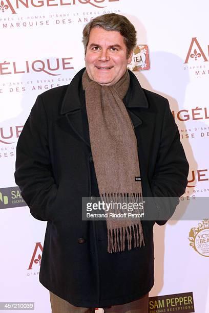 Politician Franck Louvrier attends the 'Angelique' Paris movie premiere at Cinema Gaumont Capucine on December 16 2013 in Paris France