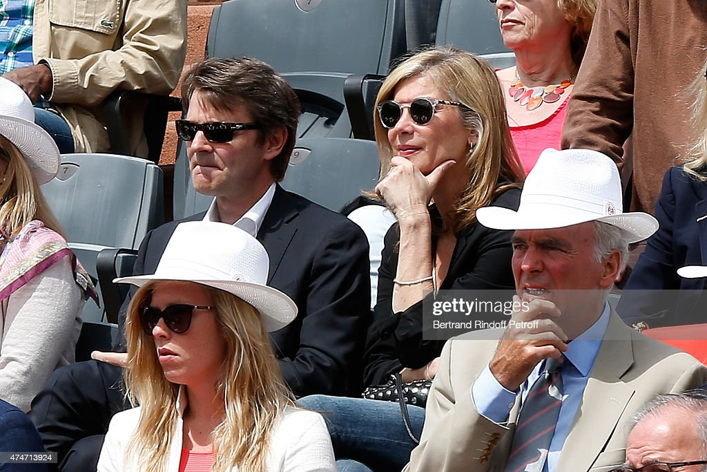 Celebrities At French Open 2015  - Day Two