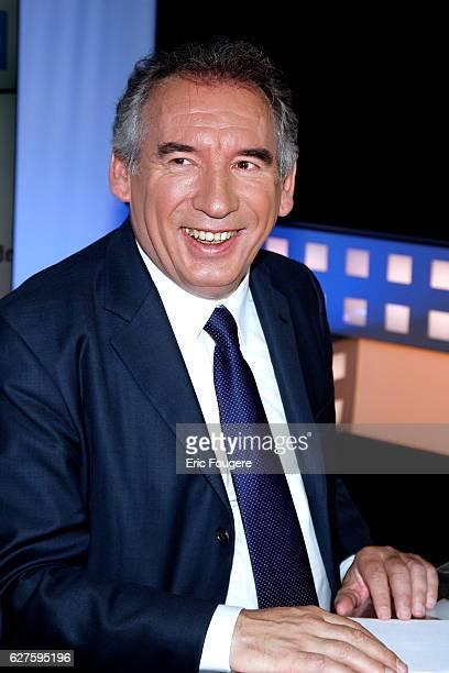 Politician Francois Bayrou Photographed in PARIS