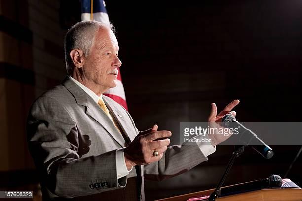 Politician giving a Speech