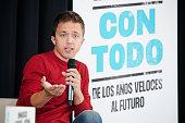Iñigo Errejon Presents His Book In Madrid