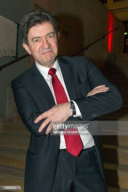 Politician JeanLuc Melenchon attends the GQ Men of the year awards 2012 at Musee d'Orsay on January 16 2013 in Paris France