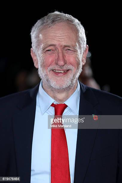Politician Jeremy Corbyn attends the Pride Of Britain Awards at The Grosvenor House Hotel on October 31 2016 in London England