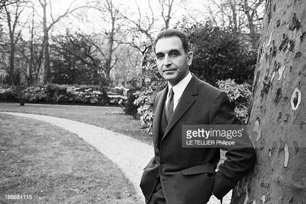 Politician Joseph Fontanet Le 6 décembre 1972 l'homme politique français Joseph FONTANET député de Savoie et ministre de l'Éducation nationale du...