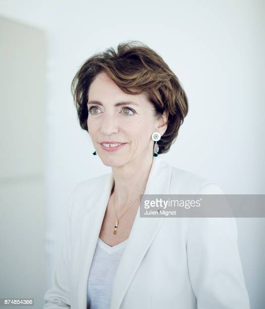 Politician Marisol Touraine is photographed for Le Monde on June 2014 in Paris France
