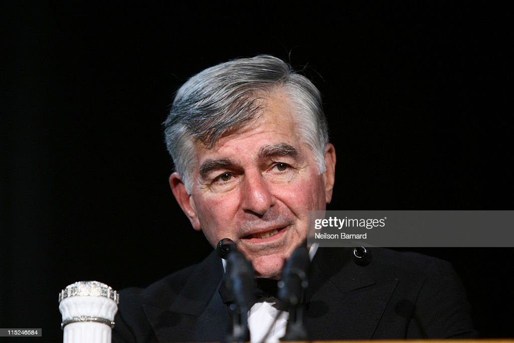 Politician <a gi-track='captionPersonalityLinkClicked' href=/galleries/search?phrase=Michael+Dukakis&family=editorial&specificpeople=210699 ng-click='$event.stopPropagation()'>Michael Dukakis</a> attends the 2011 Gabby Awards at Ellis Island on June 4, 2011 in New York City.