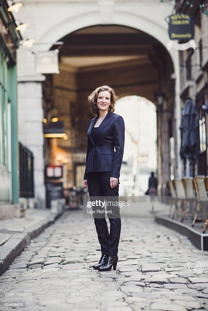 Politician Nathalie Kosciusko Morizet is photographed for Gala on April 20, 2016 in Paris, France.