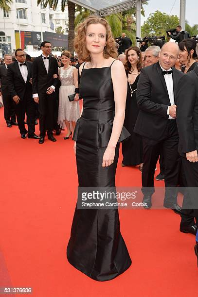 Politician Nathalie KosciuskoMorizet attends the 'The BFG' Premiere during the annual 69th Cannes Film Festival at the Palais des Festivals on May 14...