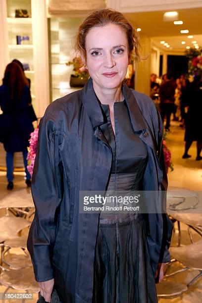 Politician Nathalie KosciuskoMorizet attends 'Vendanges Montaigne 2013' At Dior Avenue Montaigne on September 12 2013 in Paris France