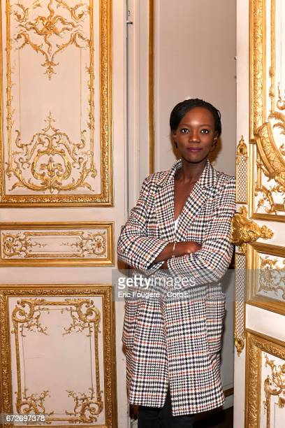 Politician Rama Yade poses during a portrait session in Paris France on