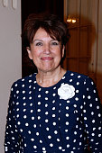 Politician Roselyne Bachelot Narquin attends the 'Open Space' Theater Play at Theatre de Paris on May 11 2015 in Paris France