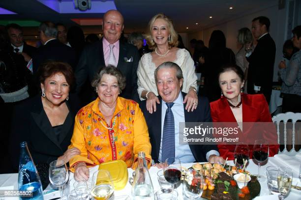Politician Roselyne Bachelot Narquin Princess Chantal de France Baron Francois Xavier de Sanbucy de Sorgues Prince Michel de France Baroness Barbara...