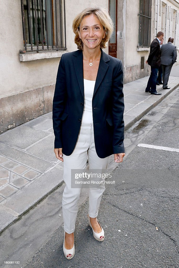 Politician Valerie Pecresse attend Marek Halter's Rosh Hashanah celebration for the 5774 Jewish new year at his home on September 8, 2013 in Paris, France.
