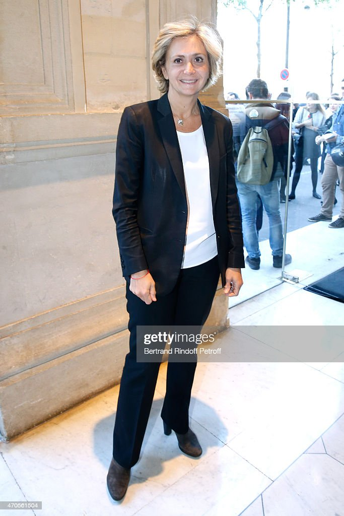 Politician Valerie Pecresse attends the Concert in Memory of 100th Anniversary of Armenian Genocide at Theatre du Chatelet on April 21, 2015 in Paris, France.