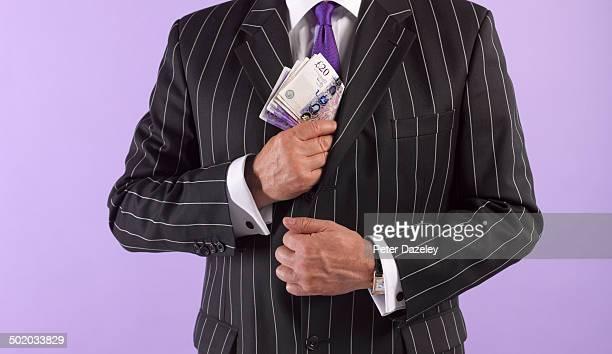 Politician/lawyer bribe