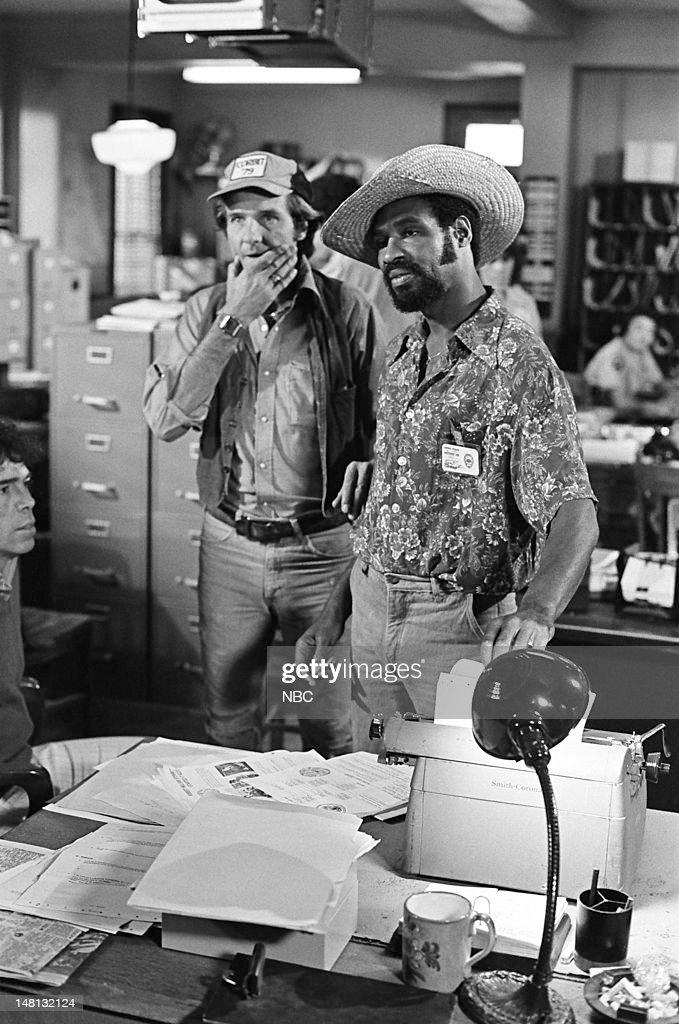 BLUES -- 'Politics as Usual' Episode 103 -- Pictured: (l-r) Kiel Martin as Det. Johnny 'J.D.' LaRue, Taurean Blacque as Det. Neal Washington --