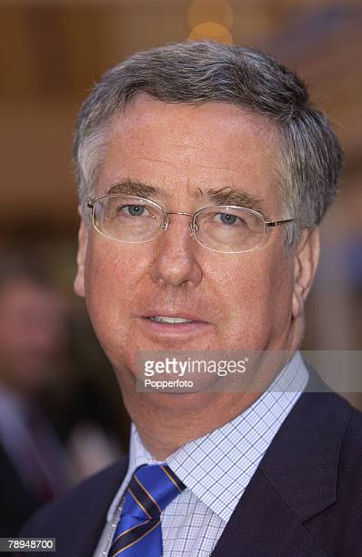 Politics Blackpool England 7th October 2003 Conservative Party Conference Michael Fallon MP